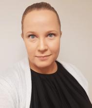 Palvelukoordinaattori Laura Pöllänen.
