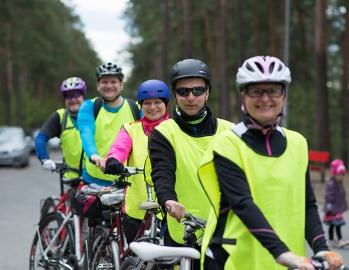 Pyöräilytiimi kuva: Marko Hukka